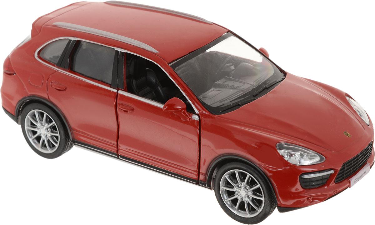 Autotime Модель автомобиля Porsche Cayenne Turbo цвет красный autotime модель автомобиля maz 5335 техпомощь