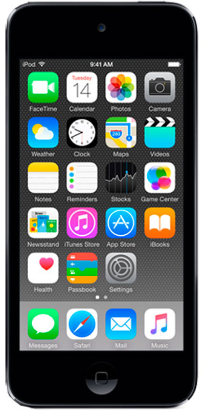 Apple iPod Touch 128GB, Space Gray mp3-плеер