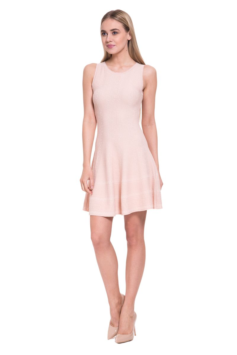 Платье женское Lusio, цвет: бежевый. SS18-020291. Размер S (42/44)SS18-020291
