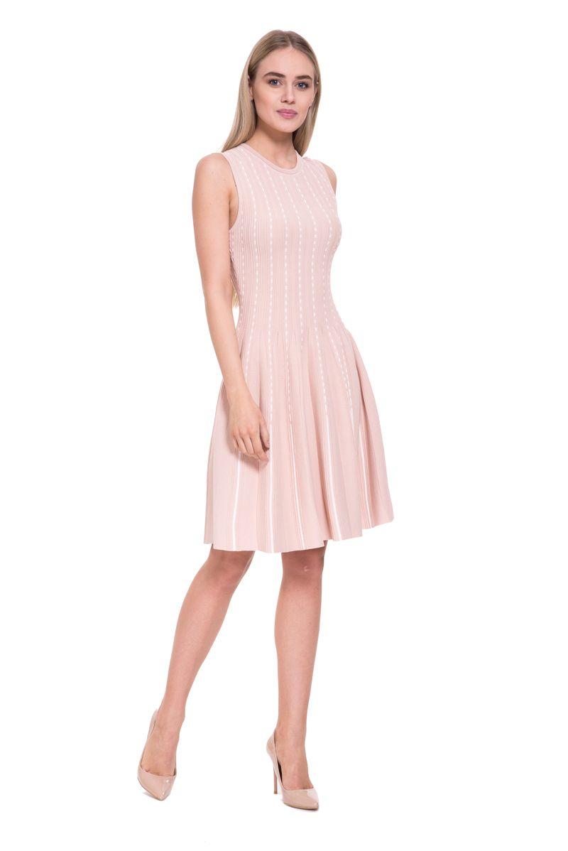 Платье женское Lusio, цвет: бежевый. SS18-020293. Размер L (46/48)SS18-020293
