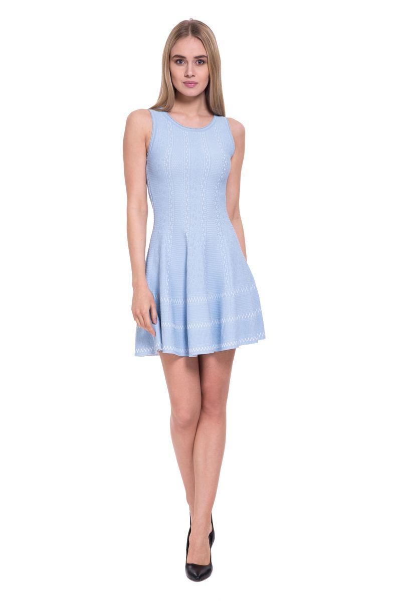 Платье женское Lusio, цвет: голубой. SS18-020291. Размер L (46/48)SS18-020291