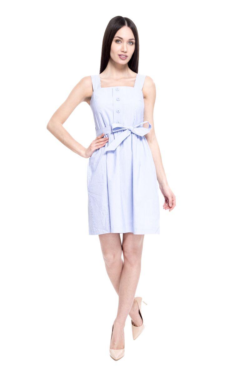 Платье женское Lusio, цвет: голубой. SS18-020314. Размер XS (40/42)SS18-020314