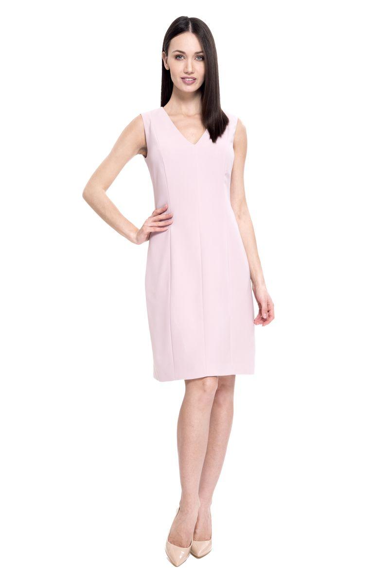 Платье женское Lusio, цвет: розовый. SS18-020054. Размер L (46/48)SS18-020054