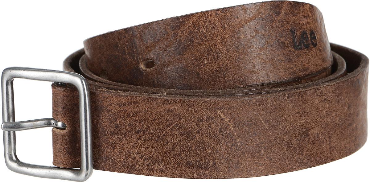Ремень мужской Lee, цвет: коричневый. LL3450EK. Размер 95