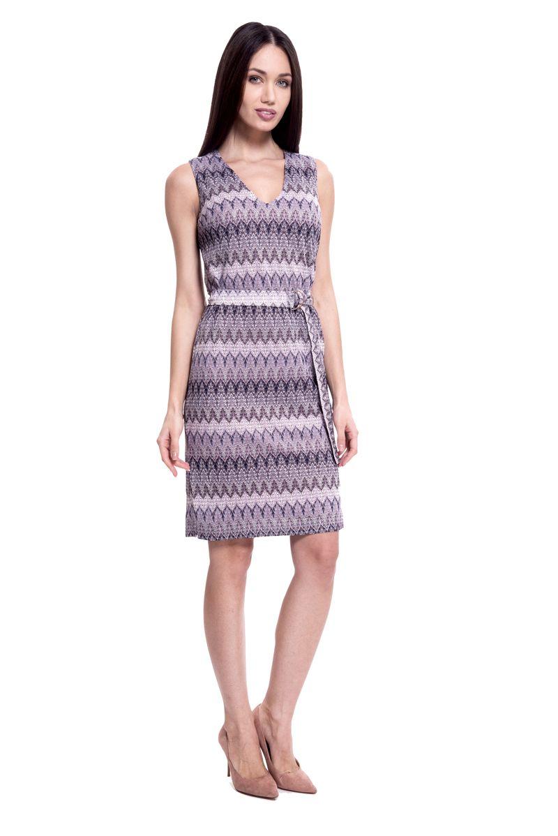 Платье женское Lusio, цвет: сиреневый. SS18-020198. Размер L (46/48)SS18-020198
