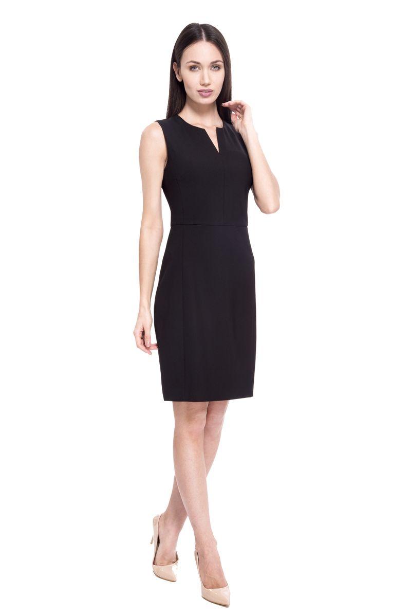 Платье женское Lusio, цвет: черный. SS18-020052. Размер XS (40/42)SS18-020052
