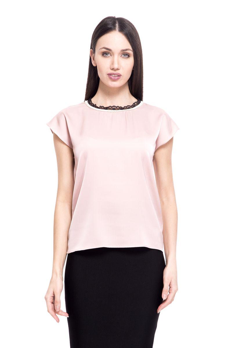 где купить Топ женский Lusio, цвет: розовый. SS18-370016. Размер XS (40/42) по лучшей цене