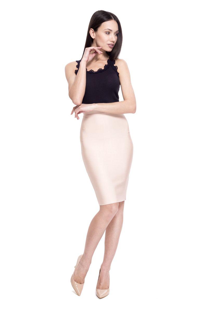 Юбка женская Lusio, цвет: кремовый. SK18-030000. Размер M (44/46)SK18-030000