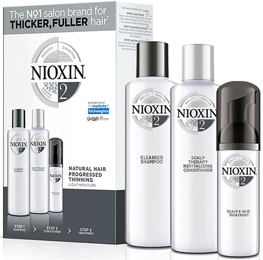 Nioxin System Набор (Система 2) 2 Kit 150 мл+150 мл+40 мл