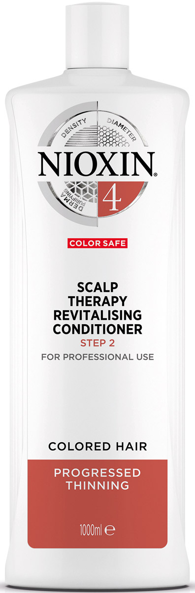 Nioxin Scalp Увлажняющий кондиционер (Система 4) Revitaliser System 4, 1000 мл nioxin scalp revitaliser system 4 увлажняющий кондиционер система 4 1000 мл