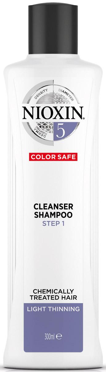 Nioxin Cleanser Очищающий шампунь (Система 5) System 5, 300 мл81274176Шампунь очищающий Система 5 Cleanser System 5 Nioxin предназначен для жестких и непослушных волос. Средство мягко очищает кожу головы и защищает ее от вредного влияния внешней среды. Шампунь от Ниоксин содержит протеины и аминокислоты, которые разглаживают и укрепляют структуру волоса, делая ее эластичной и сильной.