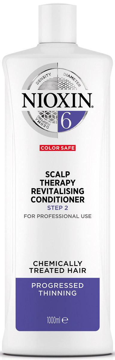 Nioxin Scalp Увлажняющий кондиционер (Система 6) Revitaliser System 6, 1000 мл nioxin scalp revitaliser system 4 увлажняющий кондиционер система 4 1000 мл