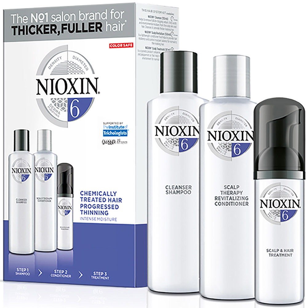 Nioxin System Набор (Система 6) 6 Kit 150 мл+150 мл+40 мл