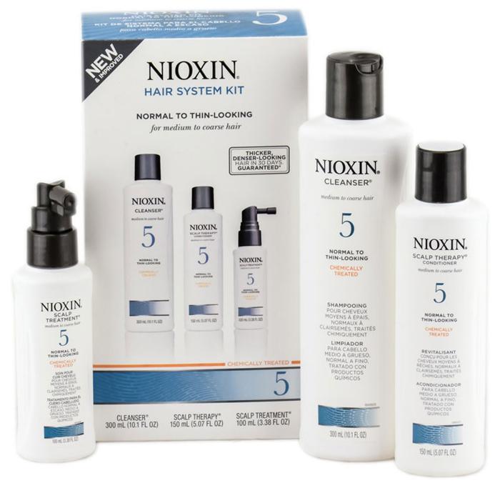 Nioxin System 5 Kit XXL -Набор (Система 5) 300 мл+300 мл+100 мл