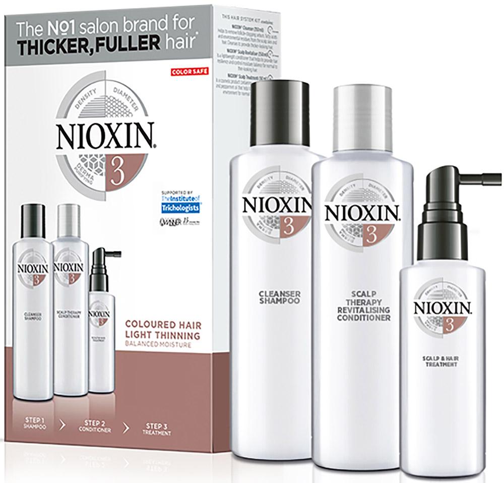 Nioxin System 3 Kit XXL  Набор (Система 3) 300 мл+300 мл+100 мл - Наборы