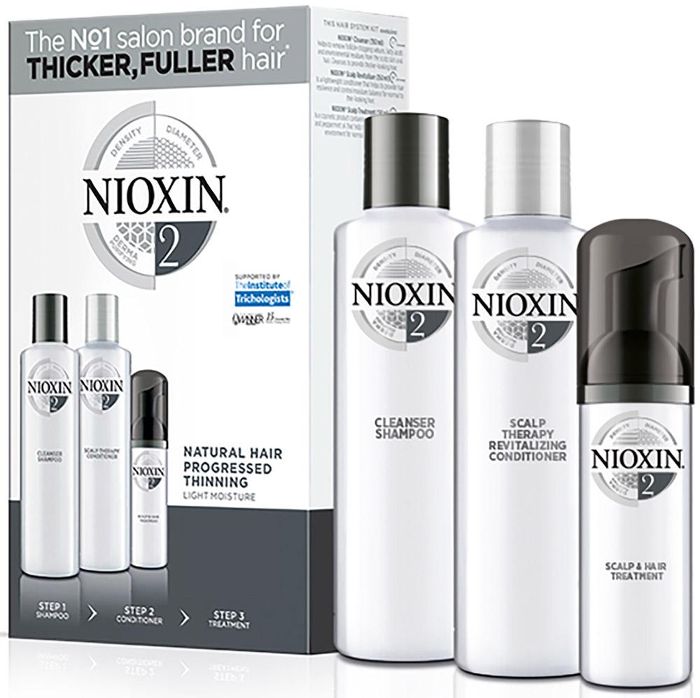 Nioxin System 2 Kit XXL  Набор (Система 2) 300 мл+300 мл+100 мл - Наборы