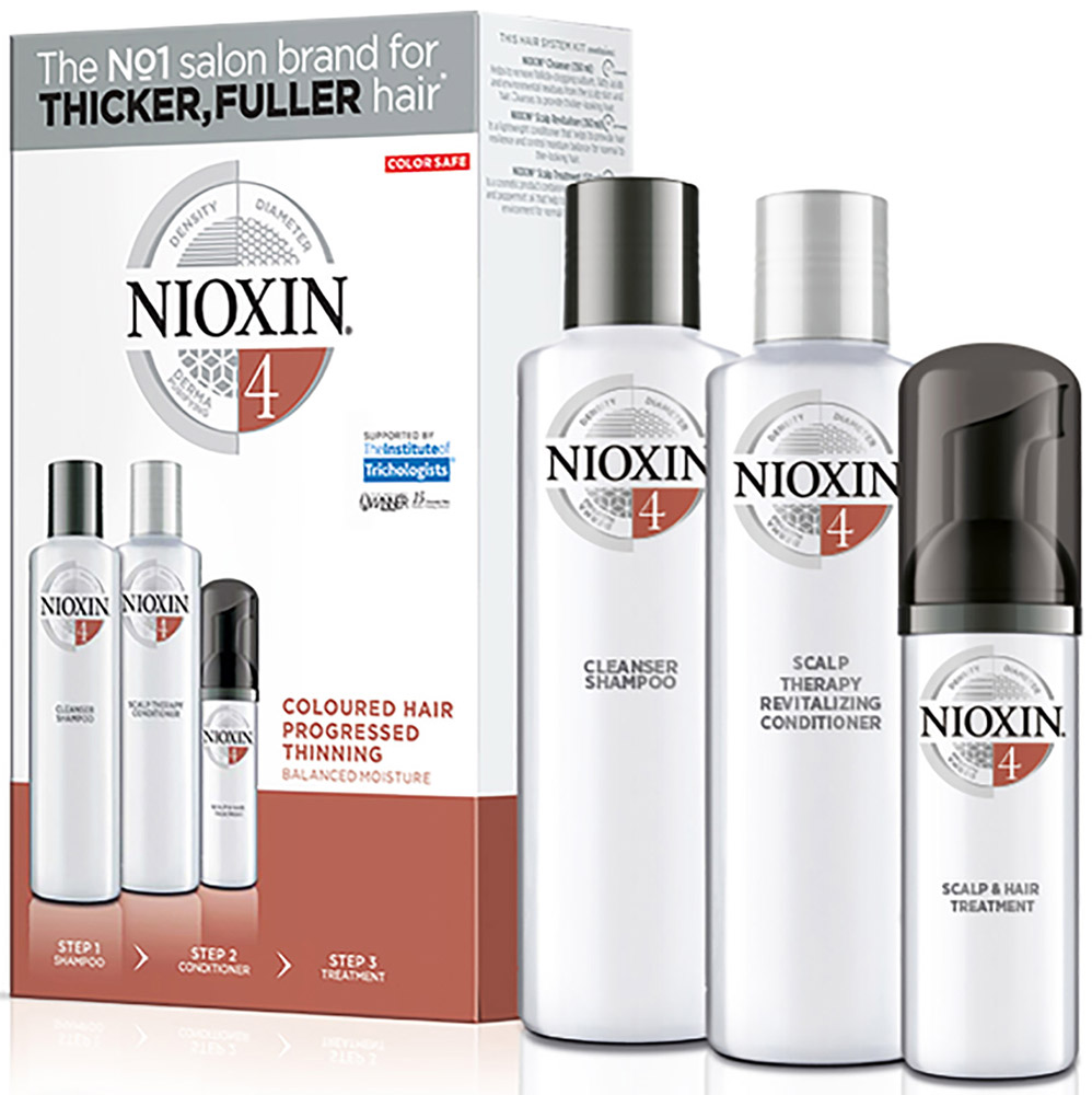 Nioxin Hair XXL Kit System 4 - Набор (Система 4) 300 мл+300 мл+100 мл