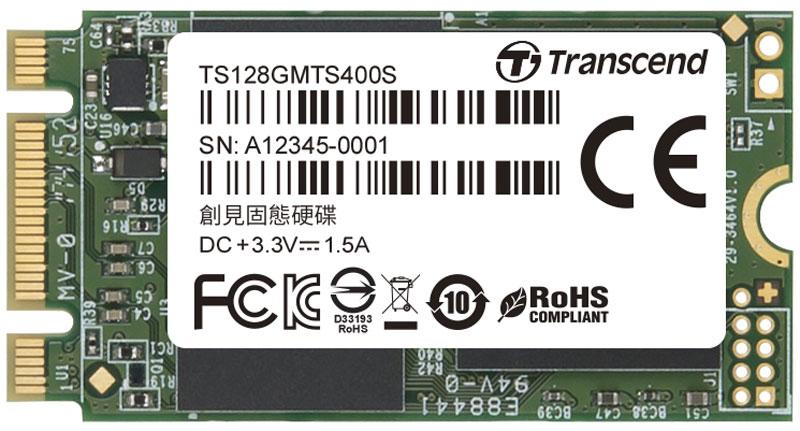 izmeritelplus.ru Transcend MTS400S 128GB SSD-накопитель (TS128GMTS400S)