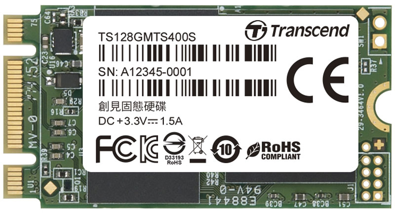 Zakazat.ru Transcend MTS400S 128GB SSD-накопитель (TS128GMTS400S)