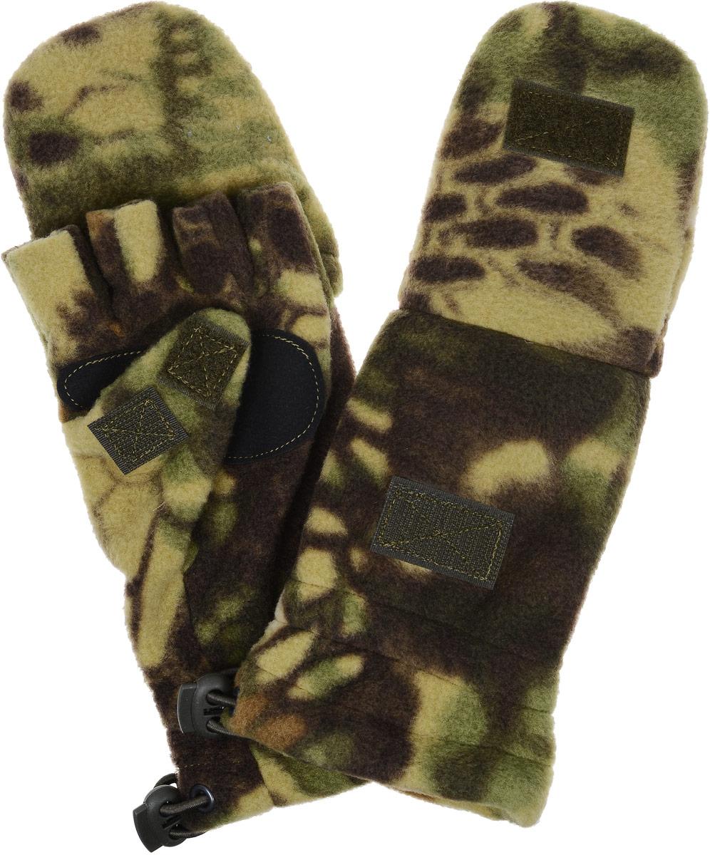 Перчатки спортивные Keotica, цвет: темно-коричневый. 1081004. Размер S/M (7,5/8)1081004Перчатки-варежки из флиса с антипиллинговой обработкой. Благодаря этому увеличивается износостойкость материала.