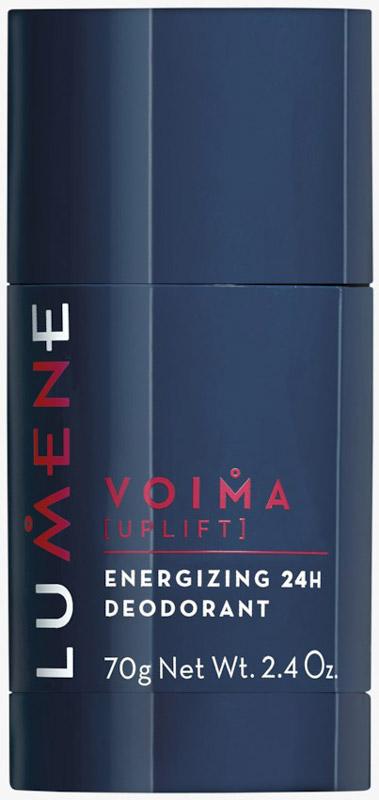 Lumene Voima Энергетический роликовый антиперспирант 24 часа, 60 мл дезодорант стик 48 часов спортивный lavilin 60 мл hlavin