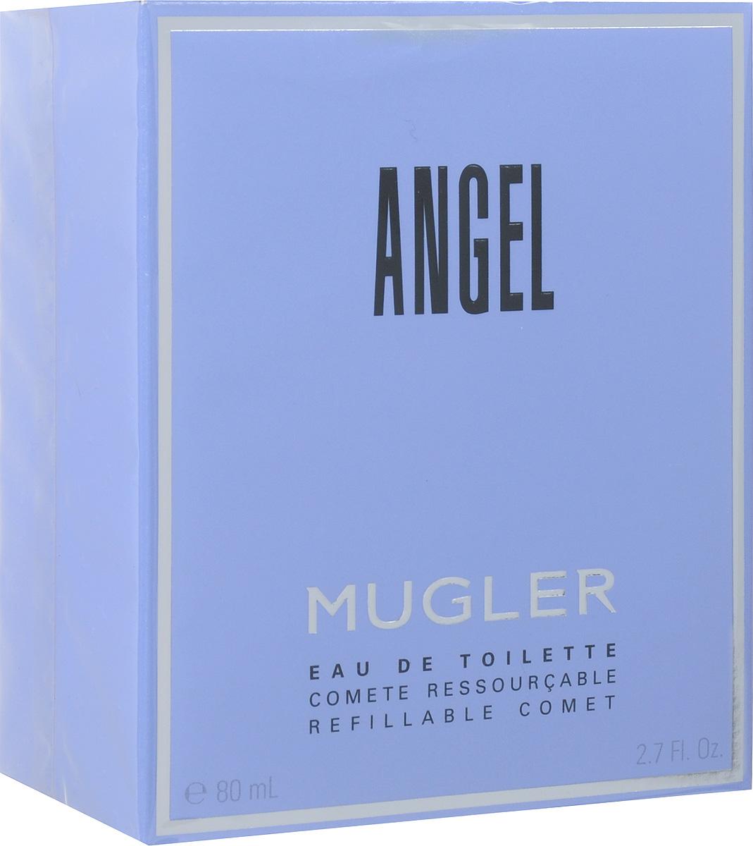 Thierry Mugler Туалетная вода Angel, женская, 80 мл13973Поддайтесь искушению легендарного аромата. К нему привязываются, сходят от него с ума. Культовая композиция c гурманскими нотами красных ягод и высокой концентрацией пачули. Начальная нота звучит нежностью детства, затем аромат постепенно открывается властными контурами совершенной, чарующей женственности.