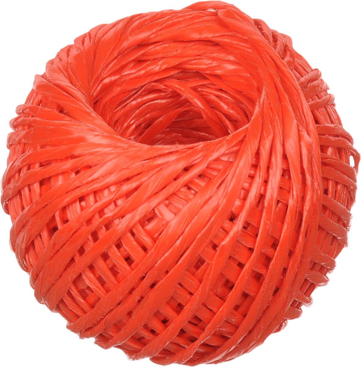 """Шпагат """"Шнурком"""", цвет: красный, длина 60 м"""