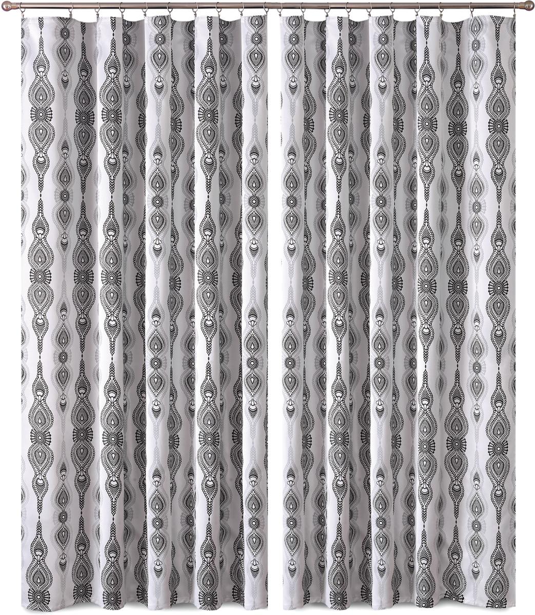 Комплект штор P Primavera Firany, на ленте, цвет: серый, высота 270 см, 2 шт. 11100751110075Комплект штор P Primavera Firany выполненный из полиэстровой жаккардовой ткани, великолепно украсит любое окно.Изящный рисунок и приятная цветовая гамма привлекут к себе внимание и органично впишутся в интерьер помещения. Этот комплект будет долгое время радовать вас и вашу семью!