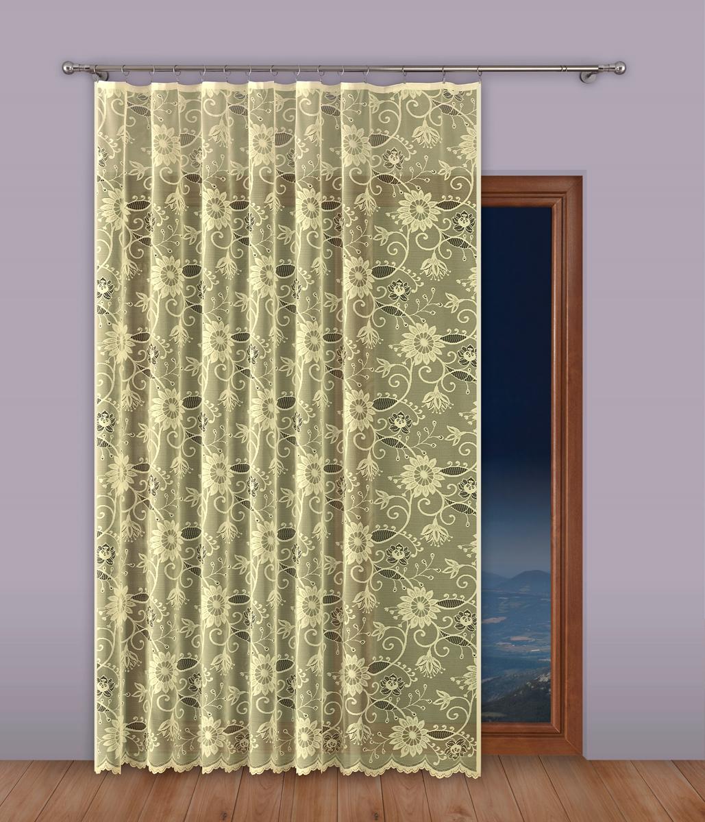 Тюль P Primavera Firany, на ленте, цвет: кремовый, высота 270 см, ширина 200 см. 1110306 primavera