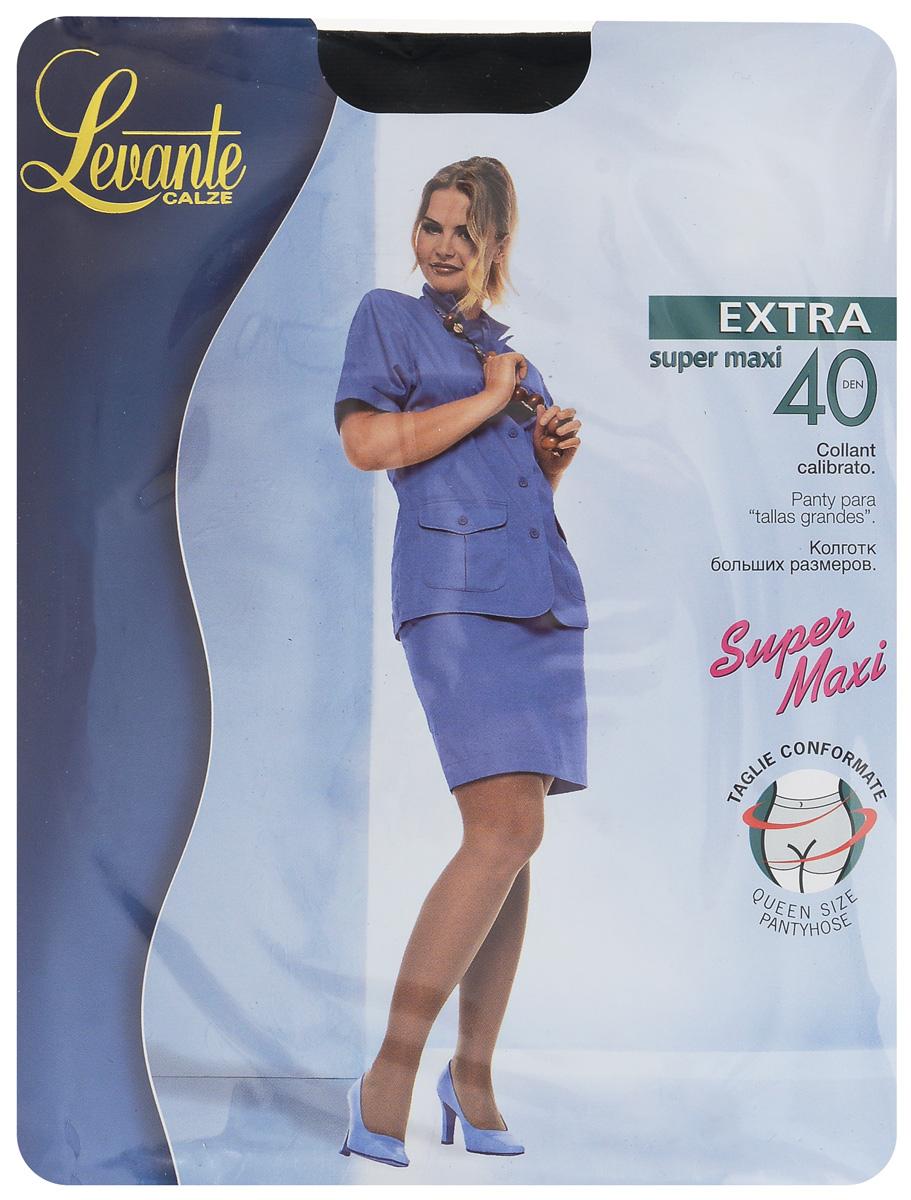 Колготки женские Levante Extra 40, цвет: Nero (черный). Размер Размер 5/6 (XL)