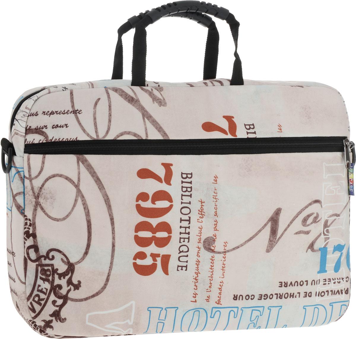 Vivacase Voyage, Beige Brown сумка для ноутбука 15,6