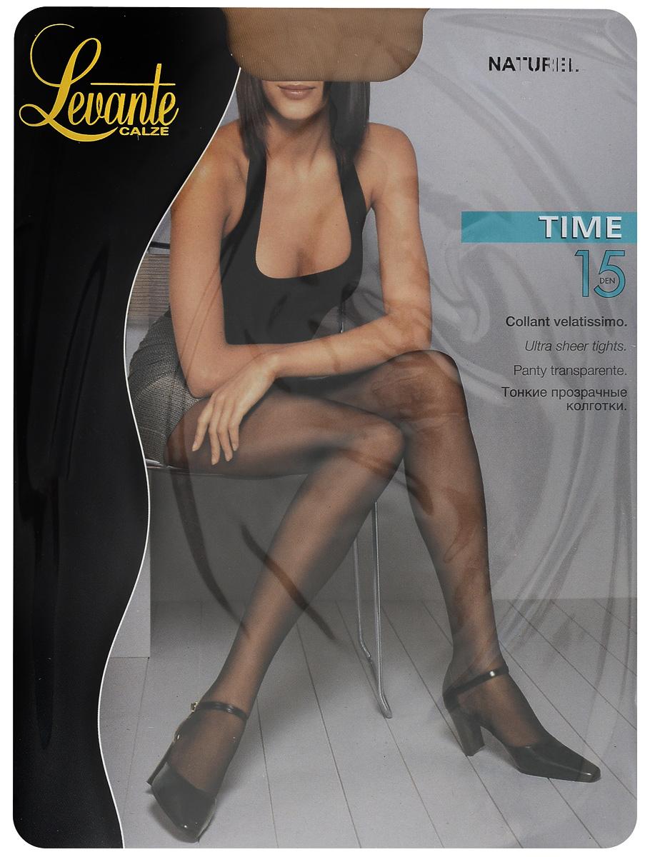 Колготки женские Levante Time 15, цвет: Naturel (бежевый). Размер 4 колготки женские levante shade 15 цвет naturel бежевый размер 4