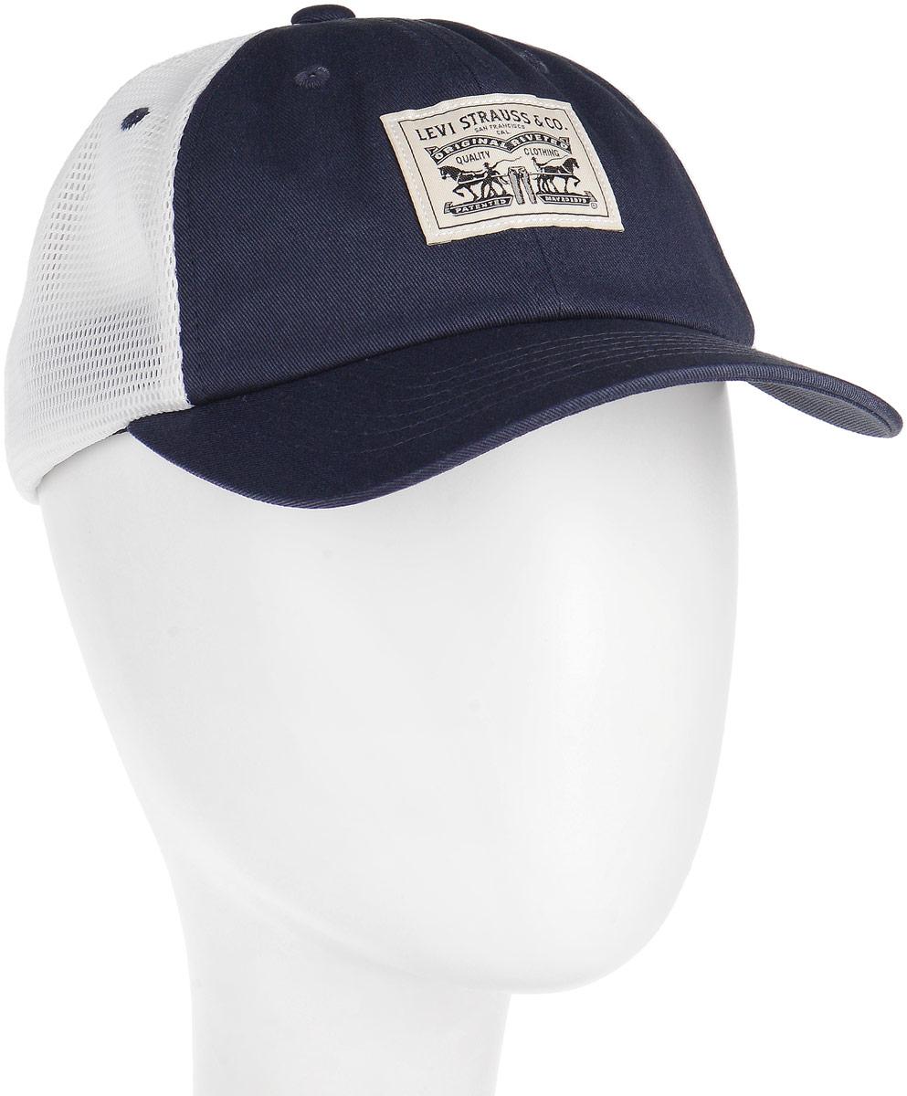 Шапка мужская Levis®, цвет: синий. 3802100100. Размер универсальный3802100100