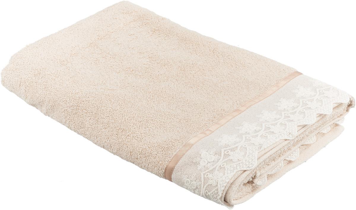 """Банное полотенце Сlassic by Togas """"Келли"""" выполнено из 100% хлопка. Изделие отлично впитывает влагу, быстро сохнет, сохраняет яркость цвета и не теряет форму даже после многократных стирок.  Такое полотенце очень практично и неприхотливо в уходе. Оно создаст прекрасное настроение и украсит интерьер в ванной комнате."""