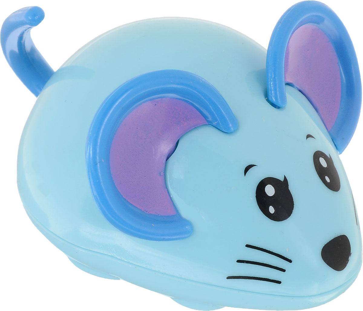 Bampi Заводная игрушка Мышка цвет голубой silverlit с бластером 1 бластер 3 мишени