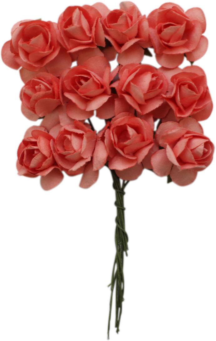 Небольшие букетики на проволочном стебельке подойдут для скрапбукинга, декорирования открыток, рамок для фотографий, других видов творчества.Размер: 2 х 2 см.В упаковке 24 цветка.