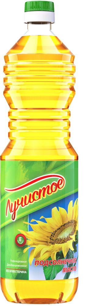 Лучистое масло подсолнечное рафинированное дезодорированное вымороженное первый сорт, 900 мл масло касторовое выдумщики рафинированное 100 мл