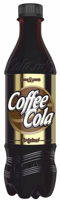 Coffe-Cola Напиток ароматизированный сильногазированный, 500 мл coca cola lime напиток сильногазированный  330 мл