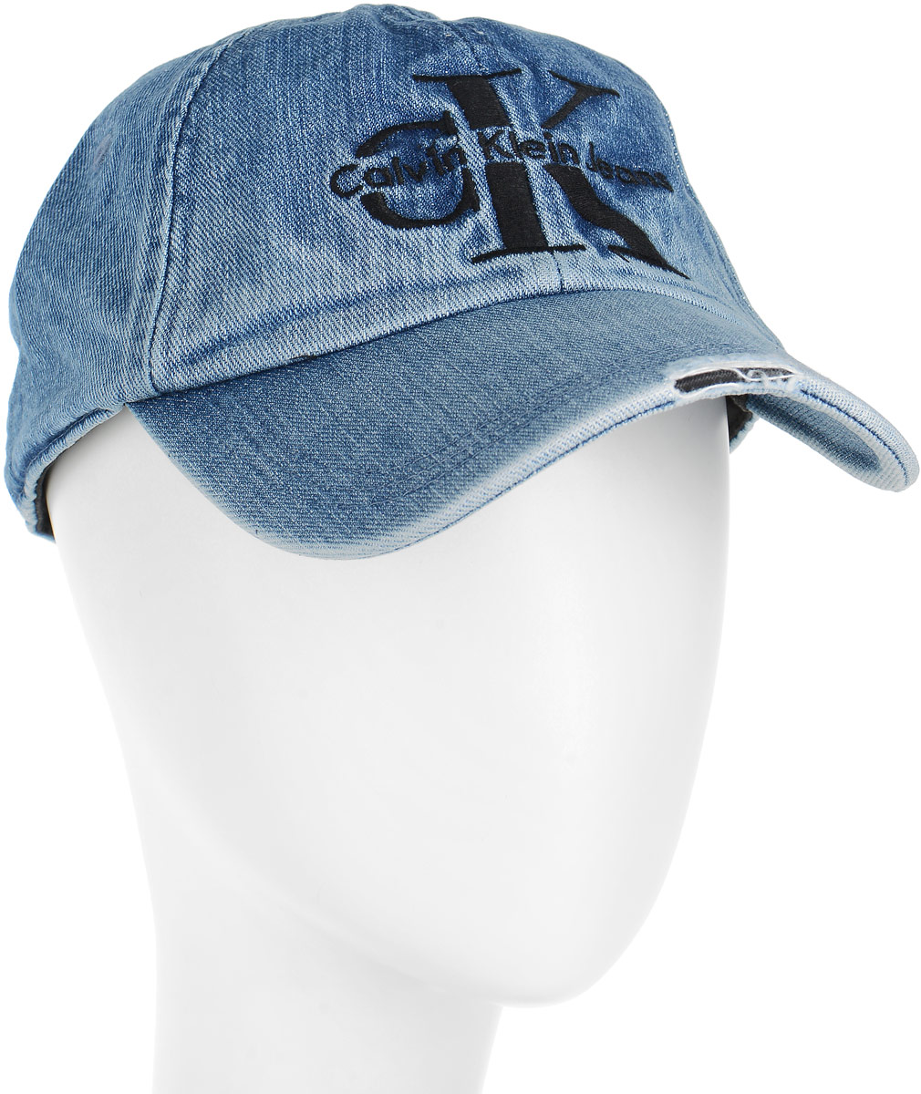 Шапка мужская Calvin Klein Jeans, цвет: синий. K40K400073/433. Размер универсальныйK40K400073/433