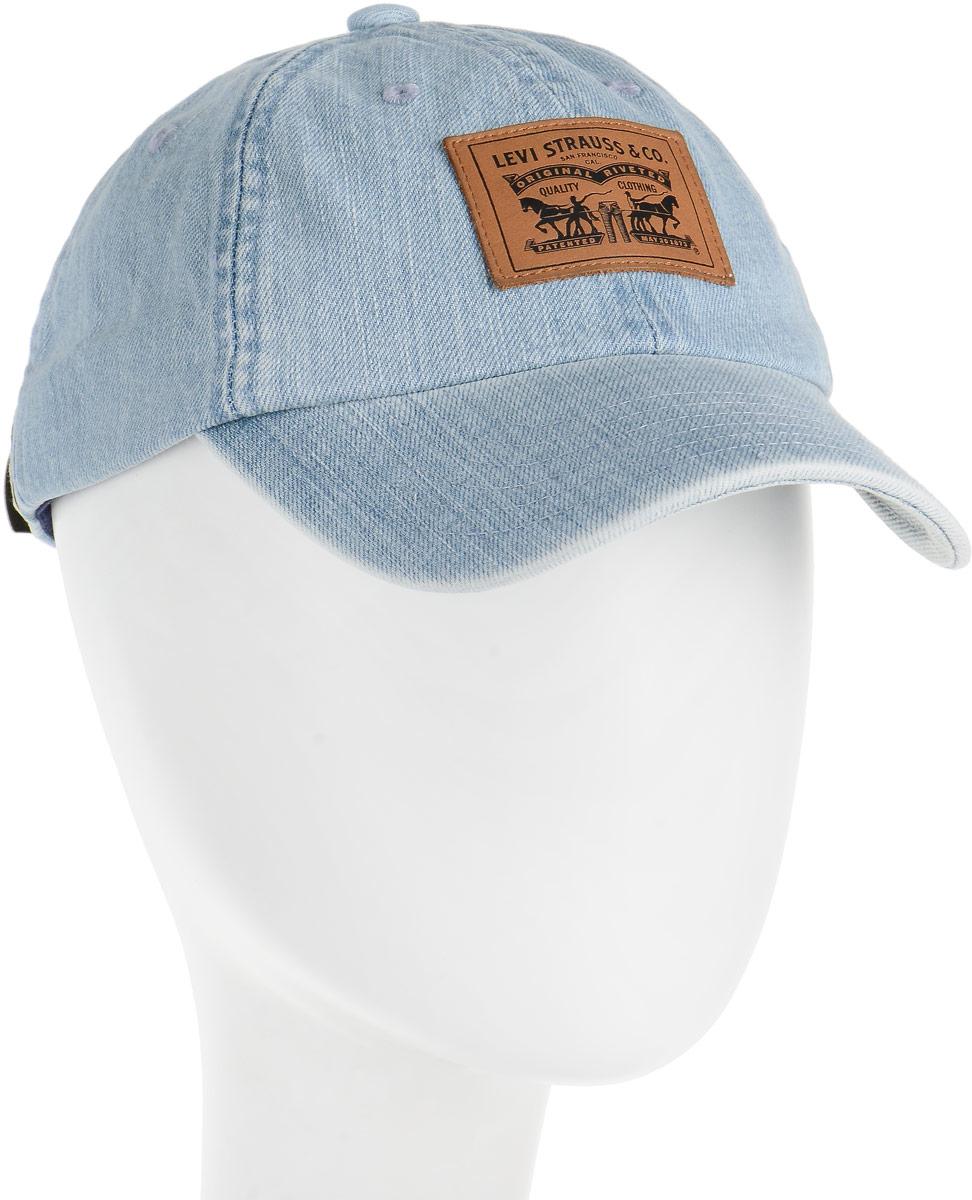 Шапка мужская Levis®, цвет: голубой. 3802100010. Размер универсальный3802100010