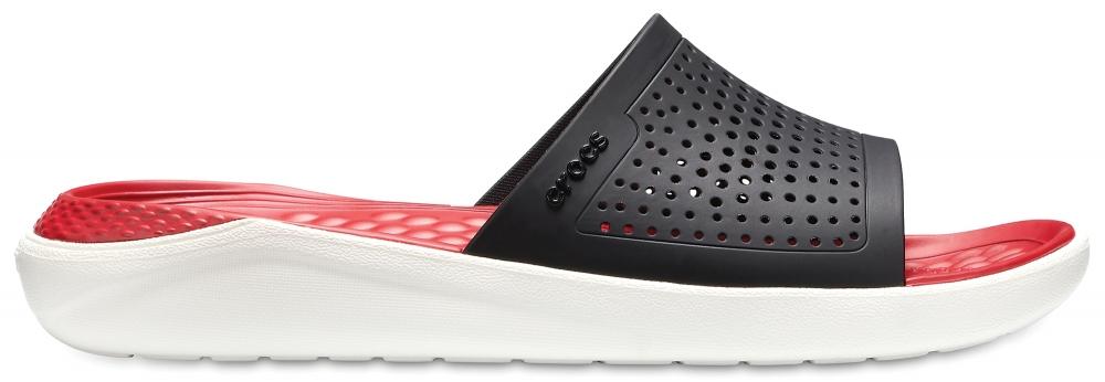 Шлепанцы Crocs LiteRide Slide, цвет: черный. 205183-066. Размер 9-11 (41/42)