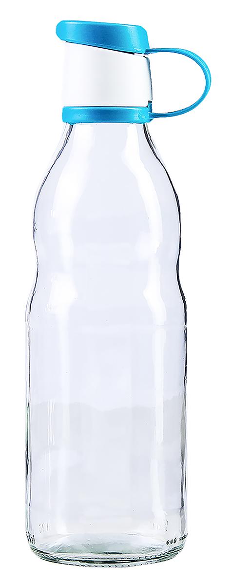 Бутылка Renga Зен, цвет: голубой, 500 мл2936550-голубойБутылка Renga Зен изготовлена из стекла. Бутылка прекрасно подойдет для хранения различных жидких продуктов: молока, воды и многого другого. Пластиковая крышка герметично закрывается, что позволяет дольше сохранять продукты свежими. Изящная емкость не только поможет хранить разнообразные сыпучие продукты, но и стильно дополнит интерьер кухни.