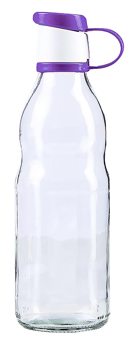 """Бутылка Renga """"Зен"""" изготовлена из стекла. Бутылка прекрасно подойдет для хранения различных жидких продуктов: молока, воды и многого другого. Пластиковая крышка герметично закрывается, что позволяет дольше сохранять продукты свежими. Изящная емкость не только поможет хранить разнообразные сыпучие продукты, но и стильно дополнит интерьер кухни."""