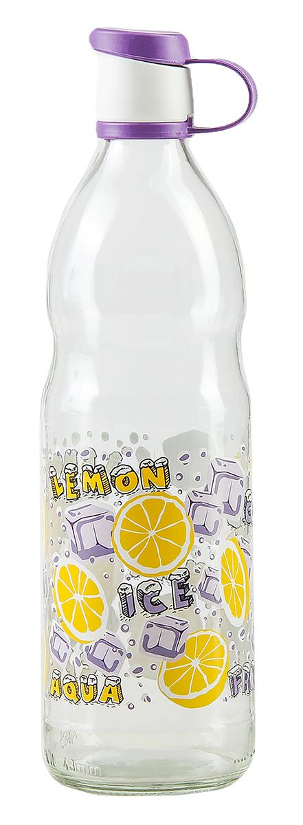 Бутылка Renga Зен, цвет: фиолетовый, 1 л. 29365532936553-фиолетовыйБутылка Renga Зен изготовлена из стекла. Бутылка прекрасно подойдет для хранения различных жидких продуктов: молока, воды и многого другого. Пластиковая крышка герметично закрывается, что позволяет дольше сохранять продукты свежими. Изящная емкость не только поможет хранить разнообразные сыпучие продукты, но и стильно дополнит интерьер кухни.