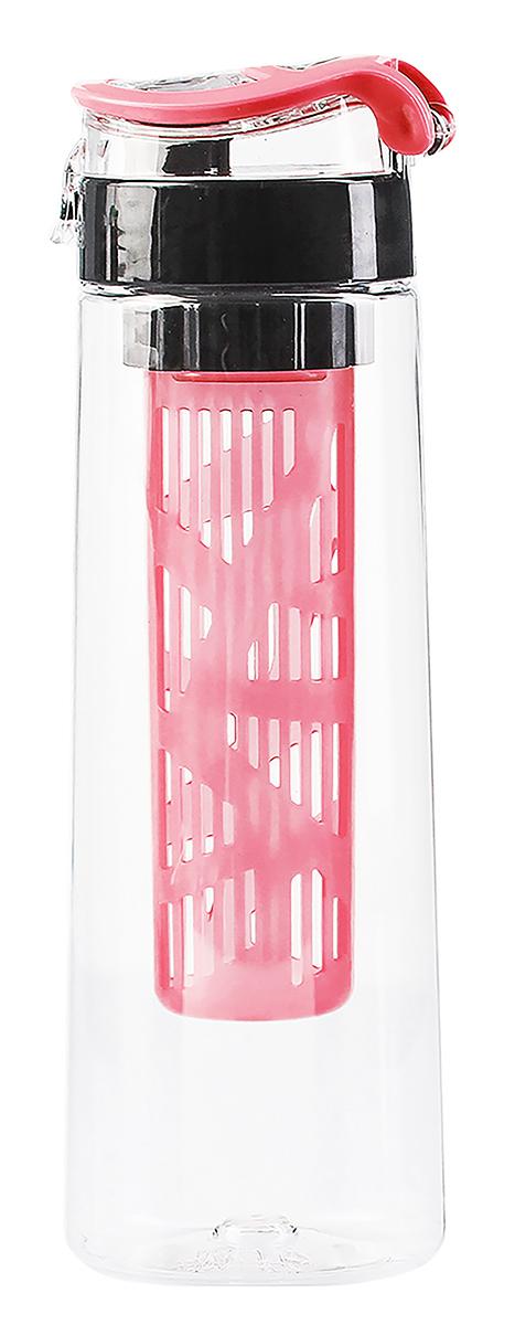 Бутылка Renga Атлас, цвет: розовый, 730 мл. 29365632936563-розовыйЁмкость с запасом питьевой воды или напитка всегда должна быть под рукой у любого спортсмена и туриста. Также бутылка станет стильным аксессуаром и подчеркнёт вашу индивидуальность.