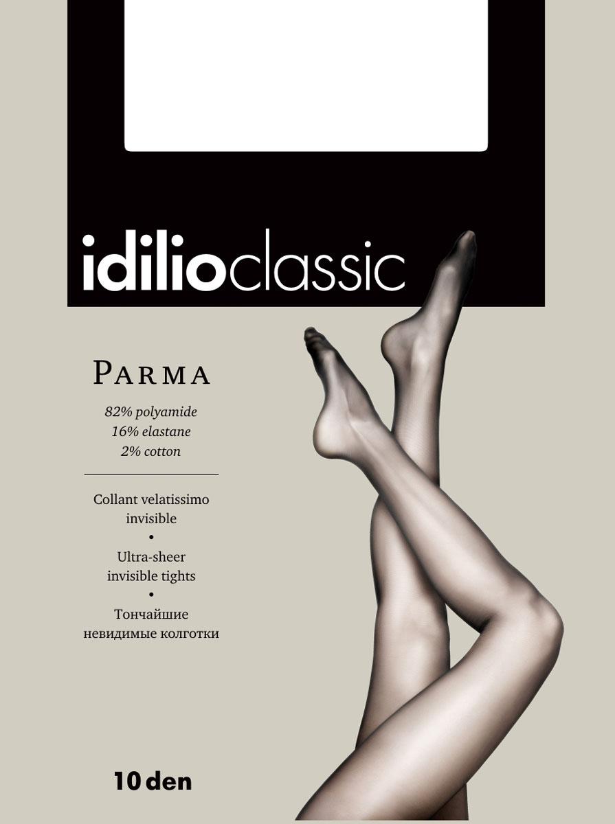 Колготки Idilio Parma 10, цвет: бронзовый. kw40. Размер 2kw40Прозрачные колготки 10 ден с поддерживающими шортиками, с ластовицей.