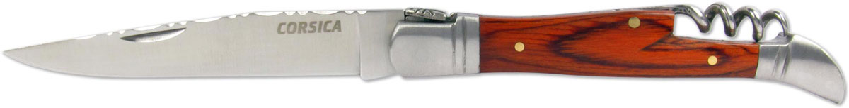 Нож складной Ножемир Corsica, цвет: коричнево-красный, длина клинка 9,3 см. C-180
