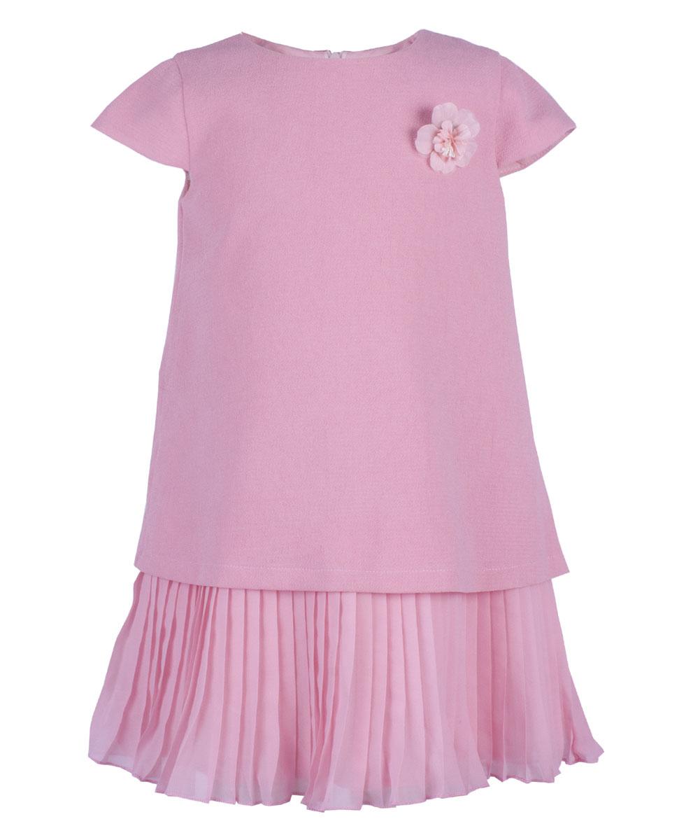 Платье для девочки Button Blue Party, цвет: розовый. 118BBGP25071200. Размер 152118BBGP25071200Casual стиль царит во всем: даже праздничная одежда должна быть удобной, практичной и комфортной. Свободное нарядное платье от Button Blue с oversize силуэтом отвечает всем модным требованиям. Платье с рукавам-крылышками изготовлено из легкого материала на хлопковой подкладке и застегивается на скрытую застежку-молнию на спинке. В таком платье каждая девочка станет звездой любой вечеринки.
