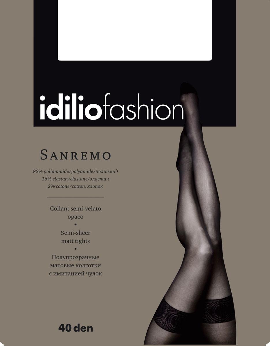 Колготки Idilio Sanremo 40, цвет: Nero (черный). kw44. Размер 4 costumenemutso платье costumenemutso w121104 fab136 nero 44 черный