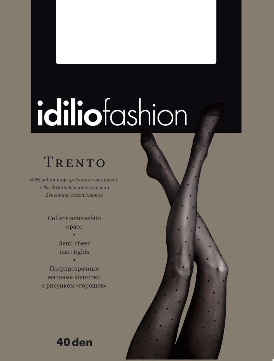 Колготки Idilio Trento 40, цвет: бронзовый. kw45. Размер 4 колготки полупрозрачные jersey 30 ден